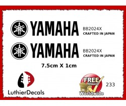 Yamaha Guitar Decal #233